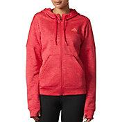 adidas Women's Team Issue Fleece Full Zip Hoodie