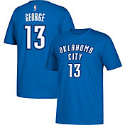 adidas Youth Oklahoma City Thunder Paul George #13 Blue T-Shirt