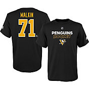 adidas Youth Pittsburgh Penguins Evgeni Malkin #71 Black T-Shirt