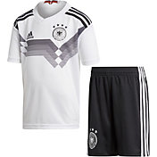 adidas Toddler Germany Replica Home White Stadium Jersey Set