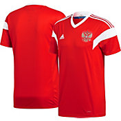 adidas Youth Russia Replica Home Red Stadium Jersey