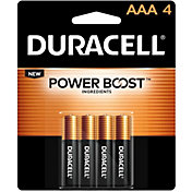 Duracell Coppertop AAA Alkaline Batteries – 4 Pack