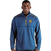 Antigua Men's Golden State Warriors Prodigy Quarter-Zip Pullover
