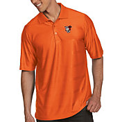 Antigua Men's Bowling Green Falcons Orange Illusion Polo