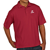 Antigua Men's 2017 National Champions Alabama Crimson Tide Crimson Pique Performance Polo