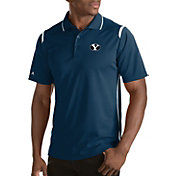 Antigua Men's BYU Cougars Merit Xtra-Lite White Polo