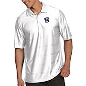 Antigua Men's Creighton Bluejays White Illusion Polo