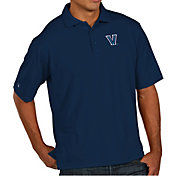 Antigua Men's Villanova Wildcats Navy Pique Xtra-Lite Polo