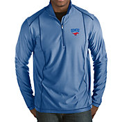 Antigua Men's Southern Methodist Mustangs Blue Tempo Half-Zip Pullover