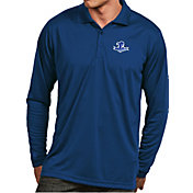 Antigua Men's Seton Hall Seton Hall Pirates Blue Exceed Long Sleeve Polo
