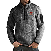 Antigua Men's Virginia Tech Hokies Black Fortune Pullover Jacket