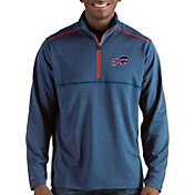 Antigua Men's Buffalo Bills Prodigy Quarter-Zip Royal Pullover