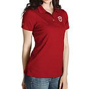 Antigua Women's Indiana Hoosiers Crimson Inspire Performance Polo