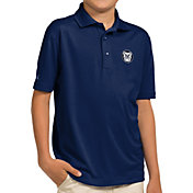 Antigua Youth Butler Bulldogs Blue Pique Polo