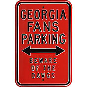 Authentic Street Signs Georgia Bulldogs Parking Sign