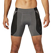 SECOND SKIN Men's QUATROFLX Heather 7'' Compression Shorts