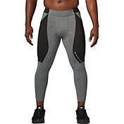 SECOND SKIN Men's QUATROFLX Heather 3/4 Compression Tights