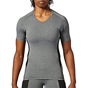 SECOND SKIN Women's QUATROFLX Heather Short Sleeve Compression Top