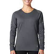 SECOND SKIN Women's Training Mini Stripe Long Sleeve Top