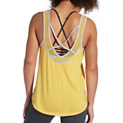 CALIA by Carrie Underwood Women's Ballerina Striped Tank Top