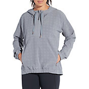 CALIA by Carrie Underwood Women's Anywhere Perforated Half Zip Jacket
