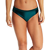 CALIA by Carrie Underwood Women's Wide Banded Solid Bikini Bottoms
