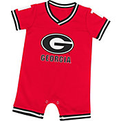 Colosseum Athletics Infant Georgia Bulldogs Red Runback Onsie
