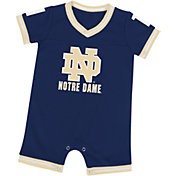 Colosseum Athletics Infant Notre Dame Fighting Irish Navy Runback Onsie