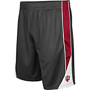 Colosseum Men's Indiana Hoosiers Grey Turn Over Shorts