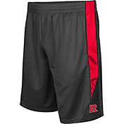 Colosseum Men's Rutgers Scarlet Knights Grey Turn Over Shorts