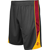 Colosseum Men's Iowa State Cyclones Grey Turn Over Shorts