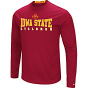 Colosseum Women's Iowa State Cyclones Cardinal Streamer Long Sleeve T-Shirt