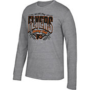 CCM Men's Philadelphia Flyers Centennial Fly High Heather Grey Long Sleeve Shirt