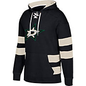 CCM Men's Dallas Stars Jersey Black Pullover Hoodie