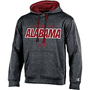 Champion Men's Alabama Crimson Tide Grey T-Formation Hoodie