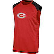 Champion Men's Georgia Bulldogs Red Muscle Tee