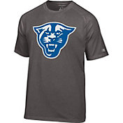 Champion Men's Georgia State  Panthers Grey Big Logo T-Shirt