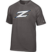 Champion Men's Akron Zips Grey Big Logo T-Shirt