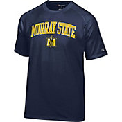 Champion Men's Murray State Racers Navy Blue Logo T-Shirt