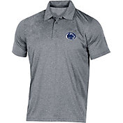 Champion Men's Penn State Nittany Lions Grey Classic Polo