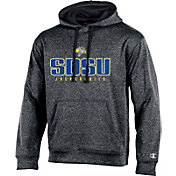 Champion Men's South Dakota State Jackrabbits Grey Double Possession Pullover Hoodie