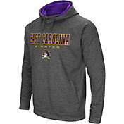 Colosseum Men's East Carolina Pirates Grey Fleece Hoodie