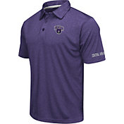 Colosseum Men's Central Arkansas Bears Purple Axis Polo