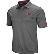 Colosseum Men's Louisiana-Lafayette Ragin' Cajuns Grey Cut Shot Polo