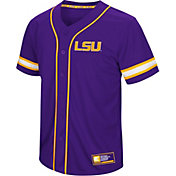 Colosseum Men's LSU Tigers Purple Play Ball Baseball Jersey