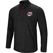 Colosseum Athletics Men's UMass Minutemen Action Pass Quarter-Zip Black Shirt