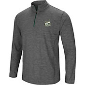 Colosseum Men's Charlotte 49ers Grey Action Pass Quarter-Zip Shirt