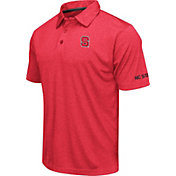 Colosseum Men's NC State Wolfpack Red Axis Polo