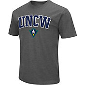 Colosseum Men's UNC-Wilmington Seahawks Grey Dual Blend T-Shirt