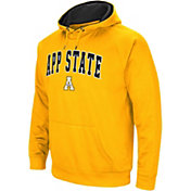 Colosseum Men's Appalachian State Mountaineers Gold Performance Hoodie